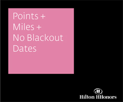 Points + Miles + No Blackout Dates