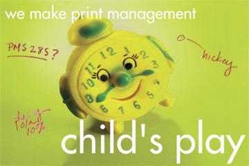 We make print management child's play